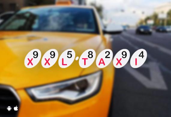 Приложение для заказа такси XXL-Taxi